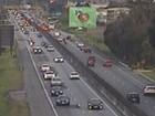Trânsito nas rodovias continua intenso; SIGA (Divulgação/Ecovia)