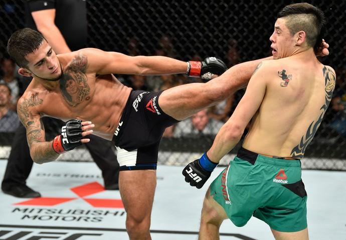Sergio Pettis x Brandon Moreno UFC México (Foto: Getty Images)