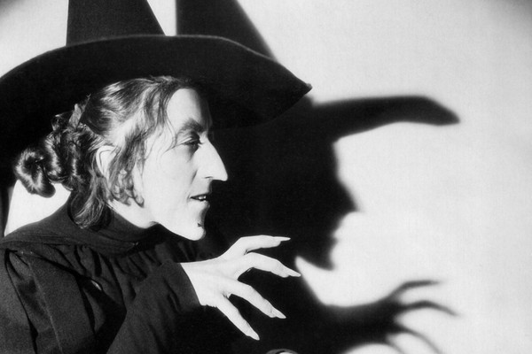 A atriz Margaret Hamilton em O Mágico de Oz (1939) (Foto: Reprodução)