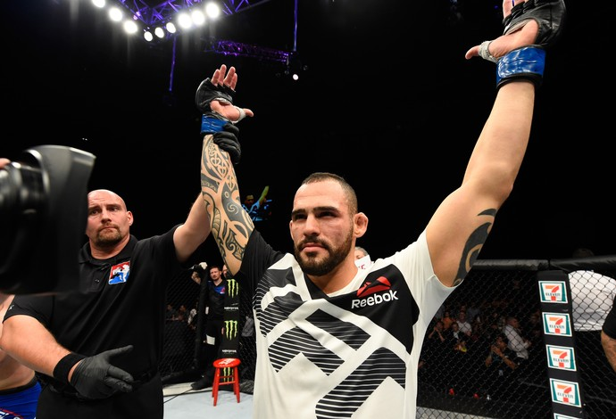 Santiago Ponzinibbio UFC Escócia (Foto: Getty Images)