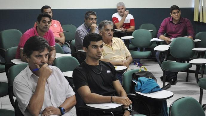 Reunião FFAC (Foto: Duaine Rodrigues)