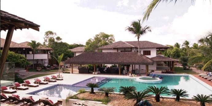 piscina do Campo Bahia, onde ficará a Alemanha (Foto: Reprodução)