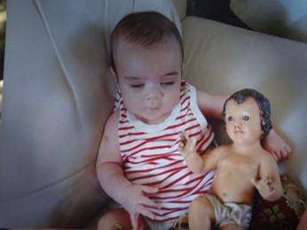Matheus sofre de trombofilia (Foto: Katherine Coutinho/ G1)