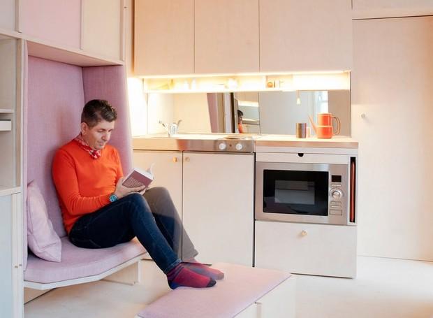 O menor e mais bonito apartamento em londres casa e for Fotos de apartamentos bonitos