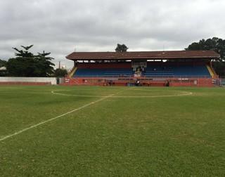 Nicolau Alayon, estádio do Nacional (Foto: Geraldo Neto/EPTV)