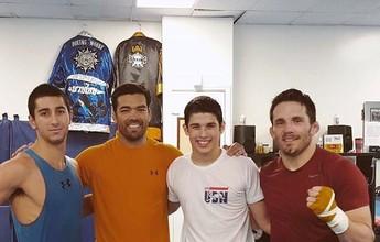 Candidato no TRM, carateca tem Lyoto como padrinho para migrar ao MMA