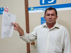 Silva foi atendindo por médico períto em Palmas (Foto: Gabriela Lago/G1)