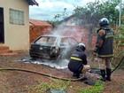 Briga em festa na capital de MS termina com incêndios e mulher ferida