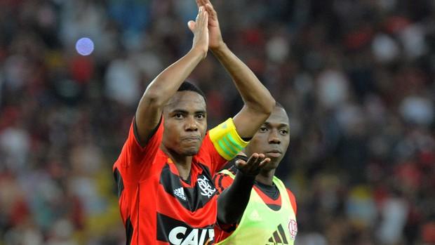 Elias gol Flamengo x Cruzeiro (Foto: Alexandre Vidal / Flaimagem)