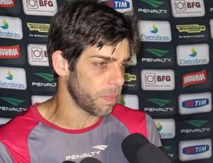 Juninho Vasco entrevista  (Foto: André Casado / Globoesporte.com)