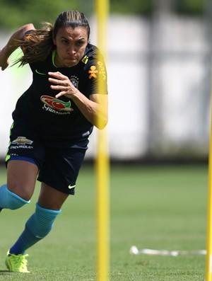 Marta treino seleção feminina Manaus