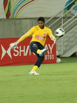 Pantera - goleiro do América-RN (Foto: Canindé Pereira/América FC)