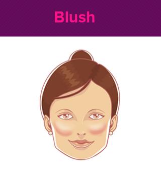 Dica para aplicar o blush  (Foto: Ego)