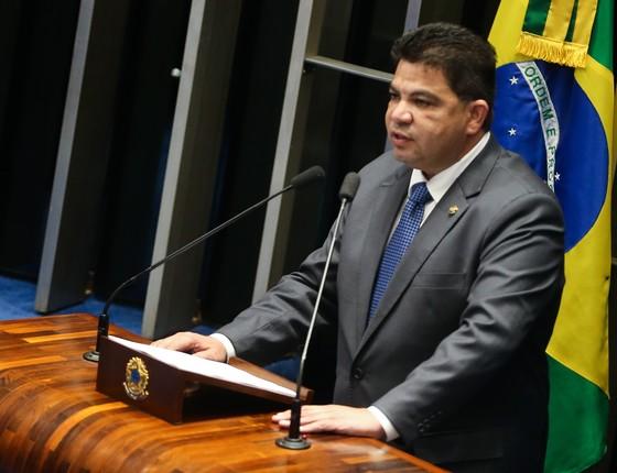 O senador Cidinho Santos (PR/MT) (Foto: Antonio Cruz/Agência Brasil)