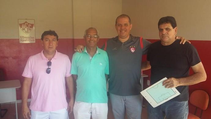 Marcelo Araxá, Zezinho, Rodrigo Alcino e Luiz Eduardo (Foto: Makarrão)