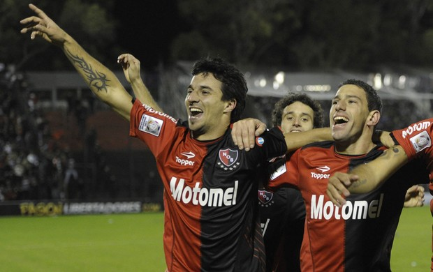 gol Newell's Old Boys' x Boca Juniors (Foto: AFP)