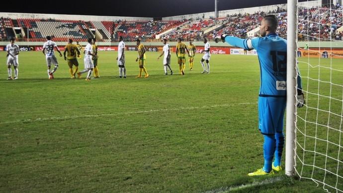 Galvez x Santos 2ª fase Copa do Brasil (Foto: Duaine Rodrigues)