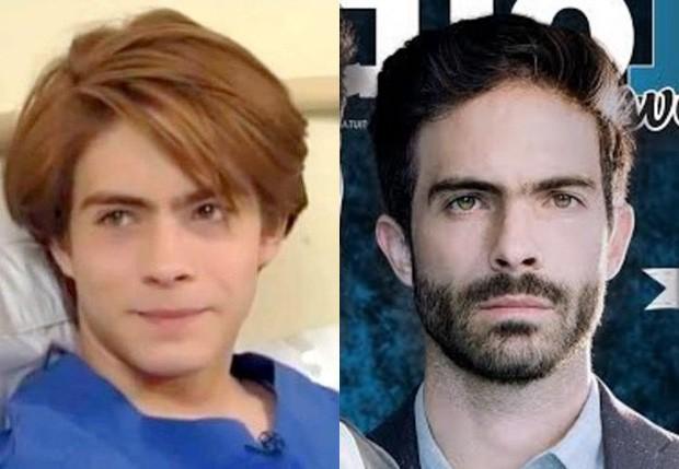 Osvaldo Benavides em 1996 e em 2016 (Foto: Reprodução)