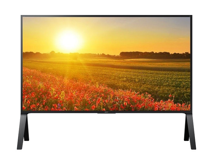 Televisor XBR-100Z9D, da Sony, custa R$ 350 mil (Foto: Divulgação/Sony)