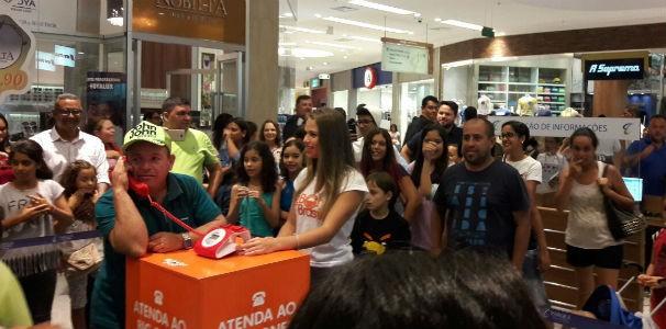 Quem atendia ganhava prêmios exclusivos BBB 17 (Foto: Divulgação / Marketing TV Gazeta)