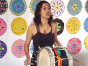 Vânia Ordones Casa Arte e Cultura Divinópolis MG (Foto: Vânia Ordones/Arquivo pessoal)