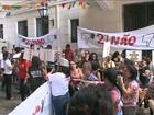 Servidores municipais realizam protesto em São Luís