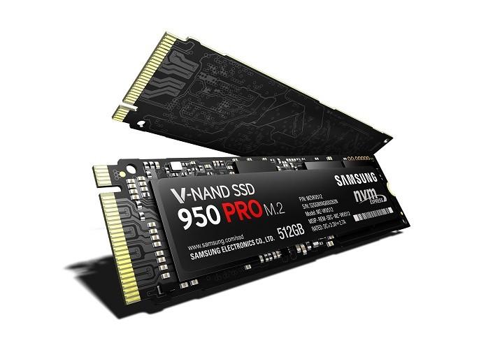 950 Pro é o primeiro SSD M.2 da Samsung a utilizar V-Nand (Foto: Divulgação/Samsung)