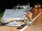 Jovem morre em colisão entre moto e picape em rodovia de Itirapuã, SP