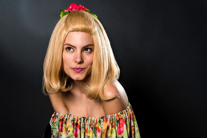 Bruna Hamú é Babalu de Quatro por Quatro (Foto: Ellen Soares / Gshow)