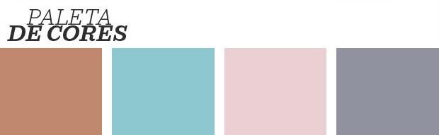 Décor do dia: parede geométrica e cores tendência  (Foto: Divulgação)
