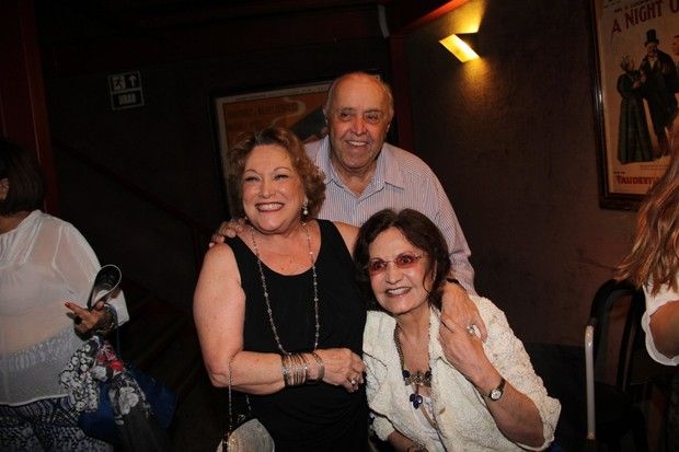 Nicette Bruno, Mauro Mendonça e Rosamaria Murtinho (Foto: Marcello Sá Barretto/AgNews)