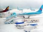 Neve fecha aeroporto e deixa 86 mil  pessoas presas em ilha