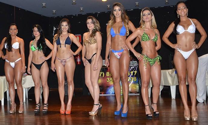 Miss Fitness no Centro-Oeste Fitness em Divinópolis (Foto: Centro-Oeste Fitness/Divulgação)