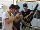 Mostra de foguetes reúne estudantes de escola estadual de Roraima