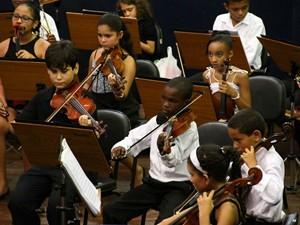 Crianças do Neojiba (Foto: Divulgação/Neojiba)