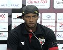 Jonh Lennon admite falta de ritmo, mas celebra volta ao Atlético-GO