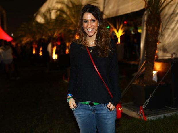 Sarah Oliveira no Lollapalooza (Foto: Iwi Onodera/EGO)
