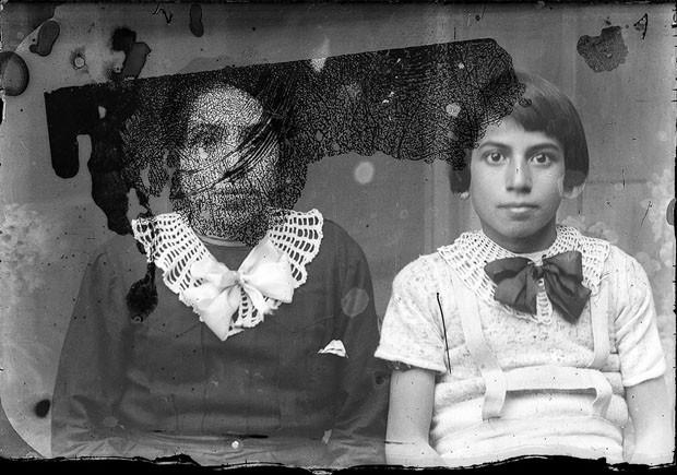Imagem digitalizada do arquivo de Costică Acsinte (Foto: Costică Acsinte Archive )