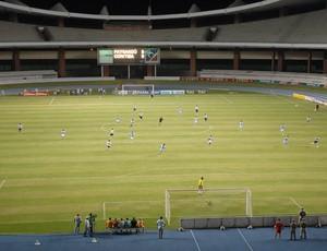 Paysandu jogou com o Coritiba em 2006 sem a presença de torcedores (Foto: Cristino Martins)