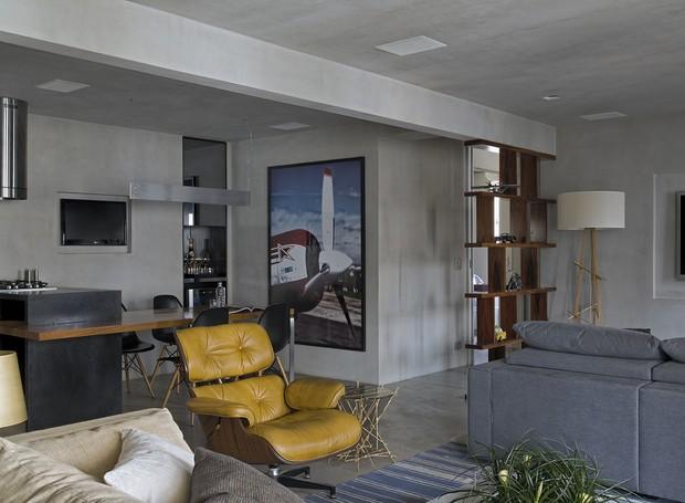 loft-diego-revollo-sala-cimento (Foto: Casa e Jardim)