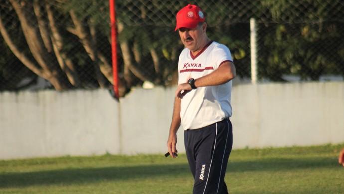 Leandro Campos técnico América-RN (Foto: Canindé Pereira/Divulgação)