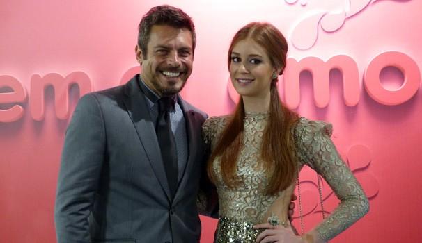 vem_aí: Luigi Baricelli e Marina Ruy Barbosa (Foto: Divulgação/RPC TV)