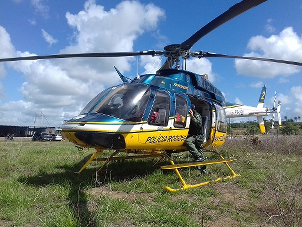 As dez aeronaves que prestam auxílio a vítimas de acidentes ficam desativadas. (Foto: Ascom/PRF)