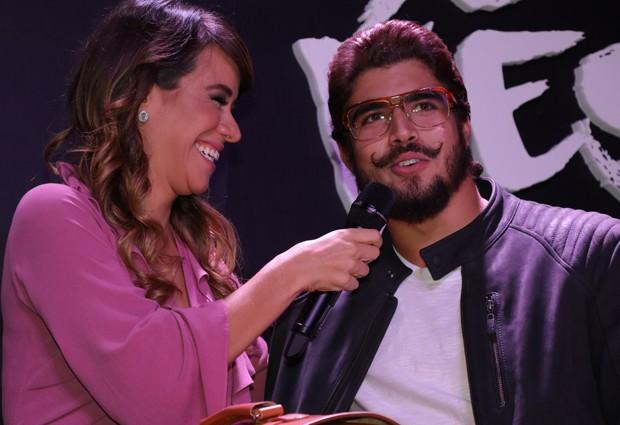 Miá Mello e Caio Castro (Foto: Fred POntes/Divulgação)