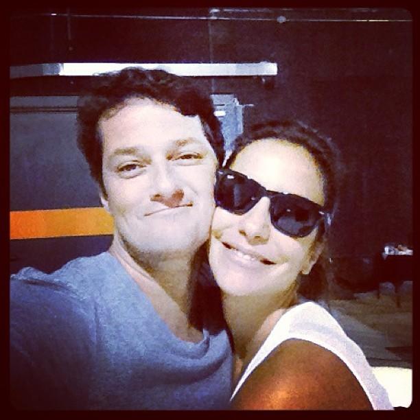 Marcelo Serrado e Ivete Sangalo (Foto: Reprodução/ Instagram)