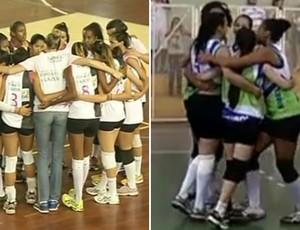 Itatiaia recebe Resende pelo Intermunicipal Rio Sul de Vôlei Feminino (Foto: Reprodução /TV Rio Sul)