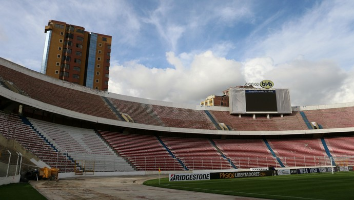 Expectativa é de 30 mil torcedores no Hernando Siles (Foto: Diego Guichard)