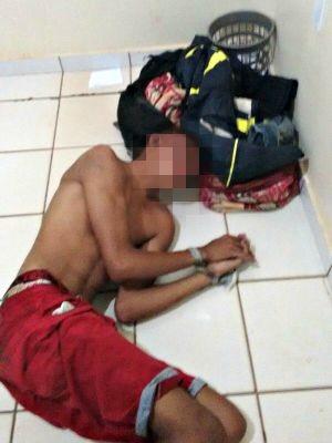 Menor foi amarrado em Senador Guiomard, no Acre (Foto: Arquivo pessoal)
