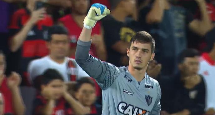 Goleiro Cleiton, Atlético-MG (Foto: Reprodução SporTV)