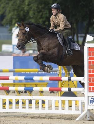 Yane Marques bronze no Mundial de pentatlo moderno (Foto: AP Photo/Axel Schmidt)